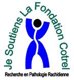association Je soutiens la Fondation Cotrel-scoliose-recherche médicale-activité sportive-prévention